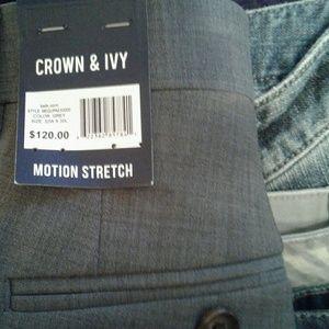 Crown & Ivy New pants reg $120 now $14